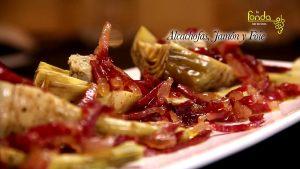 alcachofas-jamon-y-foie